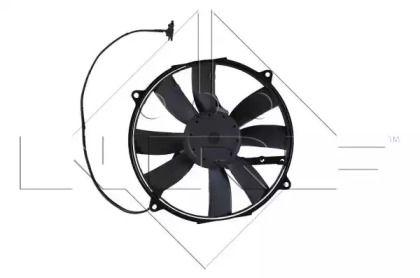 Вентилятор охолодження радіатора на Мерседес W210 NRF 47045.