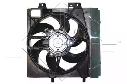 Вентилятор охлаждения радиатора на Пежо 207 'NRF 47336'.