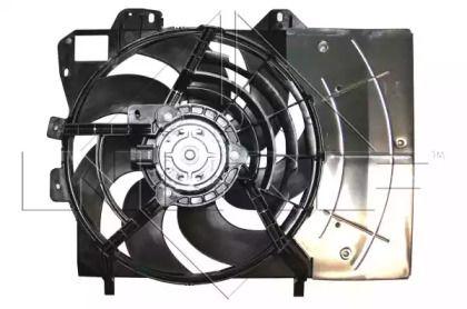 Вентилятор охлаждения радиатора на PEUGEOT 207 'NRF 47337'.
