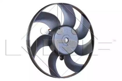 Вентилятор охлаждения радиатора на Шкода Октавия А5 'NRF 47388'.