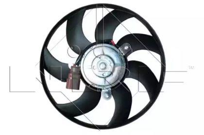 Вентилятор охлаждения радиатора на Шкода Октавия А5 'NRF 47395'.