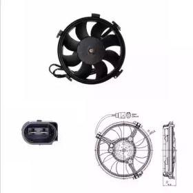Вентилятор охлаждения радиатора 'NRF 47406'.