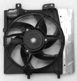 Вентилятор охлаждения радиатора на PEUGEOT 207 'NRF 47495'.