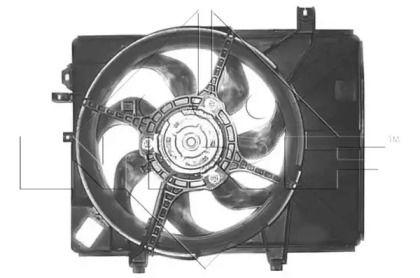 Вентилятор охолодження радіатора 'NRF 47684'.