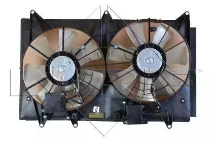 Вентилятор охолодження радіатора на MAZDA CX-7 NRF 47726.