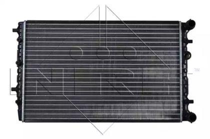 Радіатор охолодження двигуна на Шкода Румстер 'NRF 50542'.