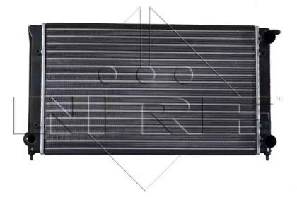 Радиатор охлаждения двигателя на SEAT TOLEDO 'NRF 509501'.