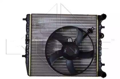 Радіатор охолодження двигуна на SKODA RAPID 'NRF 53021'.