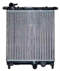 Радіатор охолодження двигуна на Шкода Сітіго 'NRF 53102'.