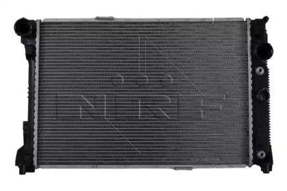 Радіатор охолодження двигуна на Mercedes-Benz GLK  NRF 53140.