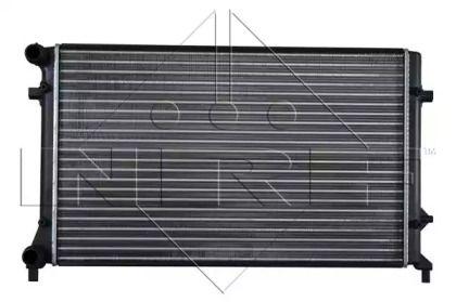 Радиатор охлаждения двигателя на Сеат Леон 'NRF 53404'.