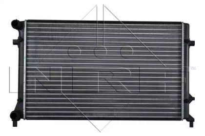 Радиатор охлаждения двигателя на Сеат Альтеа 'NRF 53405A'.