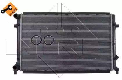 Радіатор охолодження двигуна на Шкода Октавія Тур 'NRF 53405'.