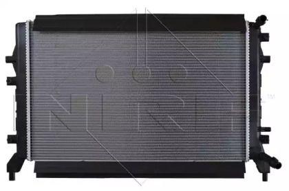 Радіатор охолодження двигуна на SKODA RAPID 'NRF 53884'.