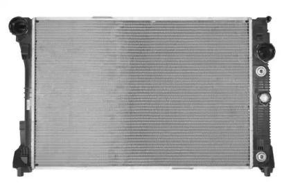 Радіатор охолодження двигуна на Мерседес ГЛК  NRF 53968.