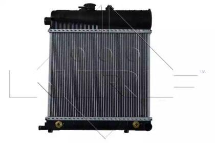 Радіатор охолодження двигуна на Мерседес W210 NRF 58232.