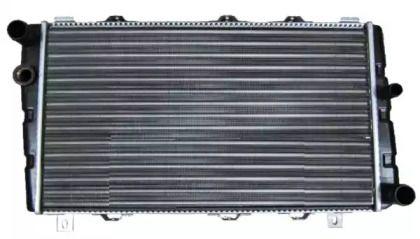 Алюмінієвий радіатор охолодження двигуна на Шкода Феліція 'NRF 58250'.