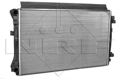 Алюмінієвий радіатор охолодження двигуна на SKODA KODIAQ 'NRF 58453'.