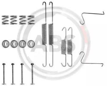 Ремкомплект задніх барабанних гальм на Шкода Рапід 'A.B.S. 0603Q'.