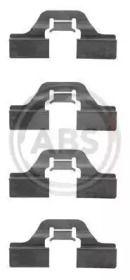 Скобы тормозных колодок на SEAT ALTEA 'A.B.S. 1211Q'.