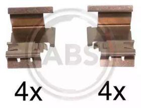 Скобы тормозных колодок на Фольксваген Джетта 'A.B.S. 1298Q'.
