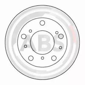 Тормозной диск на Пежо J5 'A.B.S. 15035'.