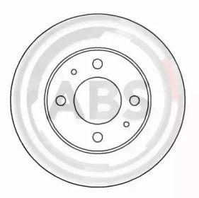 Тормозной диск на FIAT DUNA A.B.S. 15044.