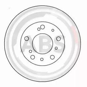 Тормозной диск на CITROEN C25 'A.B.S. 15046'.