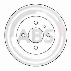 Тормозной диск на ALFA ROMEO 33 'A.B.S. 15051'.