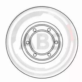 Вентилируемый тормозной диск на Опель Арена 'A.B.S. 15106'.