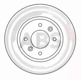 Вентилируемый тормозной диск на RENAULT 25 'A.B.S. 15114'.
