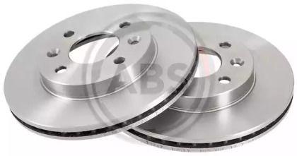 Вентилируемый тормозной диск на Рено 9 'A.B.S. 15117'.