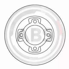 Тормозной диск A.B.S. 15553.