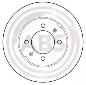 Вентилируемый тормозной диск на ROVER MAESTRO 'A.B.S. 15609'.