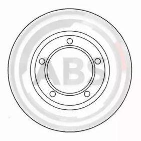 Тормозной диск на DEFENDER 'A.B.S. 15615'.