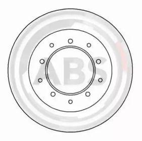 Тормозной диск на Дефендер 'A.B.S. 15616'.