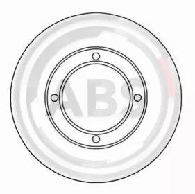 Тормозной диск на Сузуки Альто 'A.B.S. 15658'.