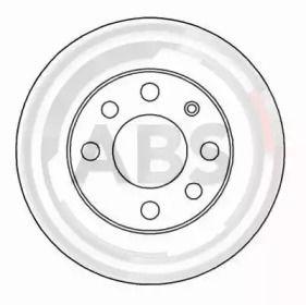 Тормозной диск A.B.S. 15751.