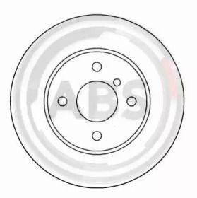 Вентилируемый тормозной диск на БМВ З1 'A.B.S. 15767'.