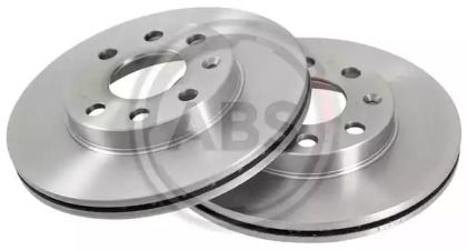 Вентилируемый тормозной диск на Опель Комбо 'A.B.S. 15770'.
