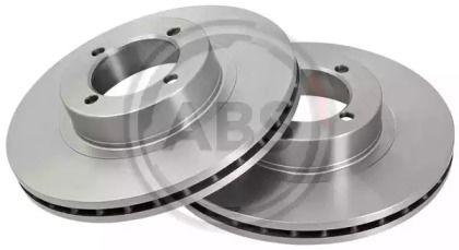 Вентилируемый тормозной диск на OPEL REKORD 'A.B.S. 15803'.