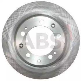 Вентилируемый тормозной диск на Порше 924 'A.B.S. 15821'.
