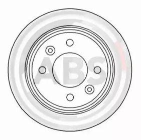 Тормозной диск на Сааб 9000 'A.B.S. 15890'.