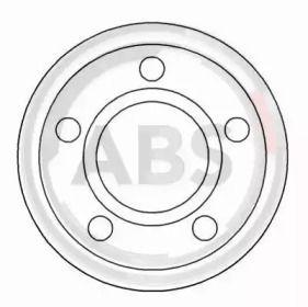 Тормозной диск на MERCEDES-BENZ 100 'A.B.S. 15892'.