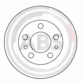 Вентилируемый тормозной диск на Вольво 240 'A.B.S. 15923'.