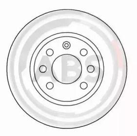 Тормозной диск на VOLVO 480 'A.B.S. 15929'.