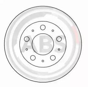 Вентилируемый тормозной диск на Вольво 740 'A.B.S. 15933'.