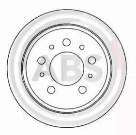 Тормозной диск на Вольво 760 'A.B.S. 15955'.