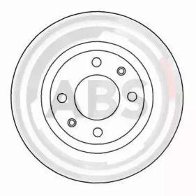 Тормозной диск A.B.S. 15958.