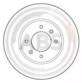 Тормозной диск на Рено 25 'A.B.S. 15959'.